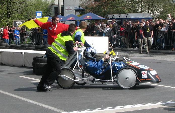 Elektromobil verseny Miskolcon