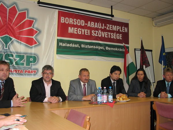 Bemutatkoztak az MSZP új Borsod megyei tisztségviselői